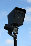 Red Light Camera. A red light camera used for traffic law enforcement in Chicago, USA Royalty Free Stock Photo