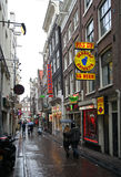 Red Light District Amsterdam Stock Photo