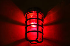 Red light district Stock Images
