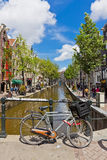 Red Light District in Amsterdam, Netherlands Royalty Free Stock Photo