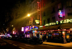 Red light District Pigalle Paris Royalty Free Stock Photography