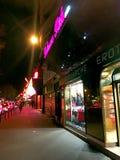 Red light District Pigalle Paris Stock Photos