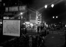 Red light District Pigalle Paris Stock Images