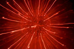 Red light explosion Royalty Free Stock Photos