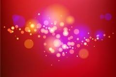 Red Light holiday background Stock Illustration
