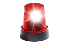 Red light isolated Royalty Free Stock Photography