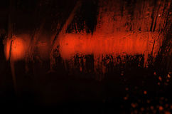 Red light in the night Royalty Free Stock Image