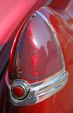 RED light of an old American brand car Stock Photography