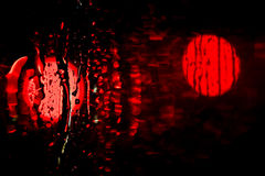 Red light reflection Stock Photo