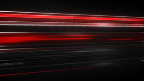 Red Light streaks abstract futuristic background Stock Image