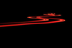 Red light strips Royalty Free Stock Image