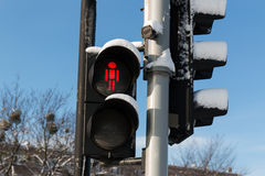 Red light Royalty Free Stock Photo