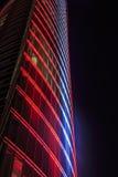 Red light windows Stock Photo