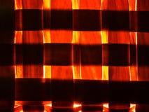 Red light woven texture, wickered pattern stock illustration