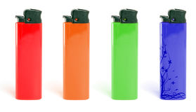 Red lighter Royalty Free Stock Images