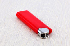 Red lighter Royalty Free Stock Photography