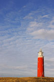 Red lighthouse Royalty Free Stock Images
