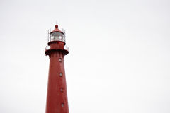 Red Lighthouse. Lighthouse in Andenes on Andoy island on Norwegian Sea in Norway Stock Images