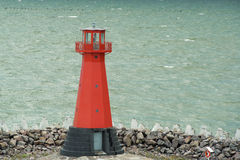 Red Lighthouse stock photos