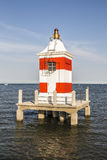 The Red Lighthouse Pier Royalty Free Stock Images