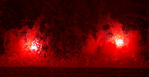 Red lights Stock Images
