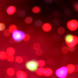 Red lights background Stock Photography