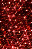 Christmas Lights Stars Royalty Free Stock Images