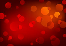 Red lights, vector. Abstract background, blending shiny circles stock illustration