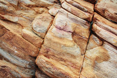 Red limestone texture Royalty Free Stock Image