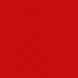 Red Linear Weaved Seamless Pattern. Royalty Free Stock Photo