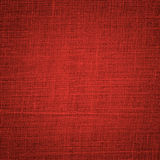 Red linen background Stock Photography