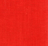 Red linen Stock Image
