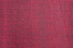 Red linen texture Stock Image