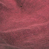 Red linen texture Stock Photography