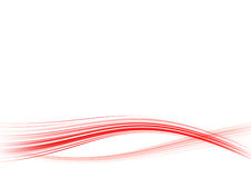 Red lines Royalty Free Stock Image