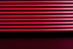 Red lines background Stock Photography