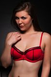 Red lingerie Royalty Free Stock Photo