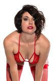 Red lingerie Royalty Free Stock Image