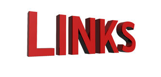Red-links Stock Photo