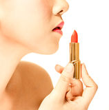 Red lip Stock Images