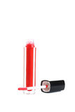 Red lip gloss Stock Photos