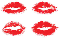 Red lips Royalty Free Stock Image