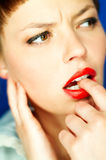 Red Lips Royalty Free Stock Images