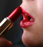 Red Lipstick 1 Royalty Free Stock Photo
