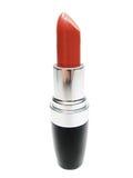 Red lipstick in black tube Stock Image