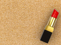Red lipstick Royalty Free Stock Photography