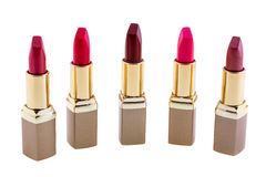 Red lipstick isolated Royalty Free Stock Photography