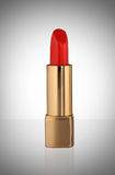 Red lipstick isolated on white background Stock Photography