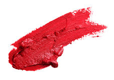 Smear Red Lipstick Stock Photo - Image: 70187963