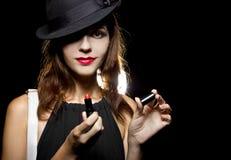 Red Lipstick Stock Image